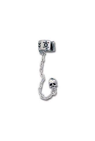 Chaos Runeskull Earring Cuffs