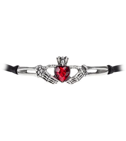 Claddagh By Night Choker