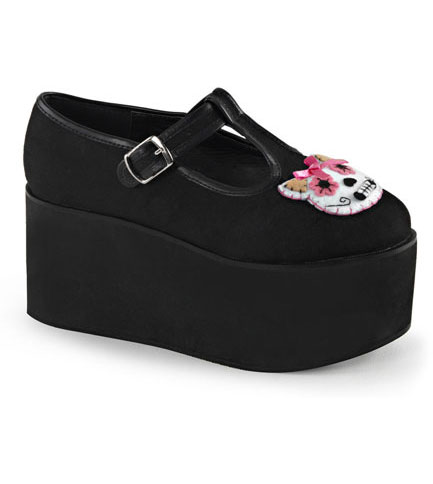 CLICK-04-1 Kitty Platform Shoes