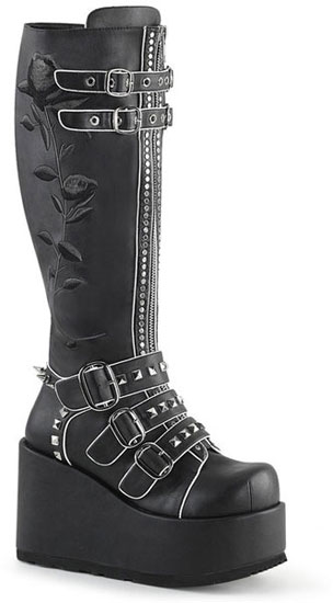 CONCORD-110 Platform Knee High Boots