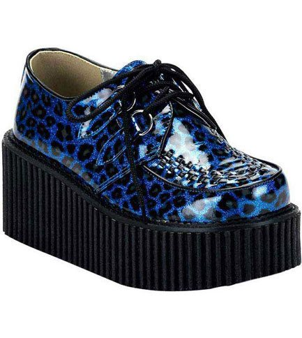 CREEPER-208 Blue Leopard Creepers
