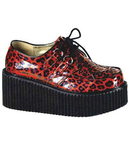 CREEPER-208 Red Leopard Creepers