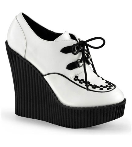 CREEPER-302 White Wedge Creepers
