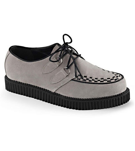CREEPER-602S Grey Creeper Shoes