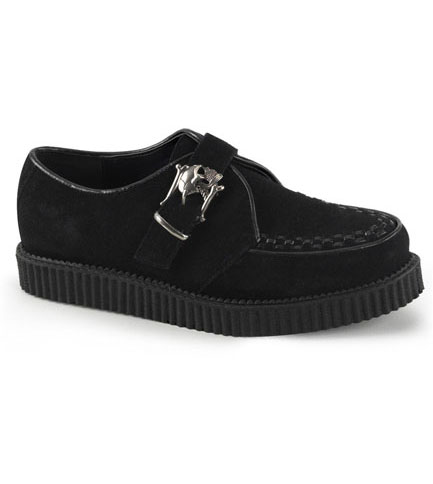 CREEPER-605 Suede Skull Creepers