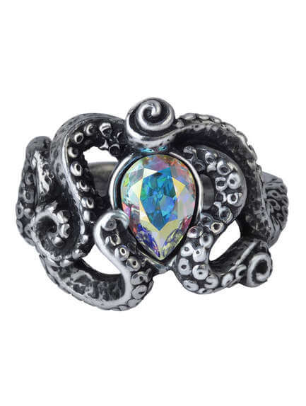Cthulhu tentacle Ring