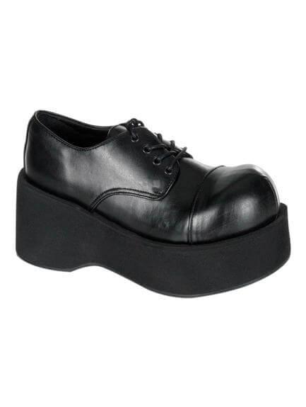 DANK-101 Black Platform Shoes