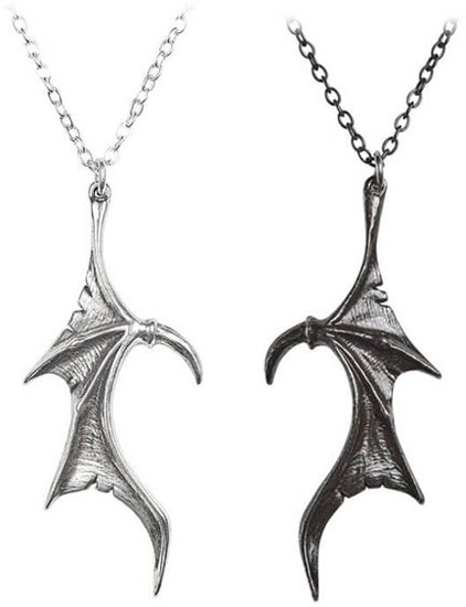 Darkling Heart Necklace Pair
