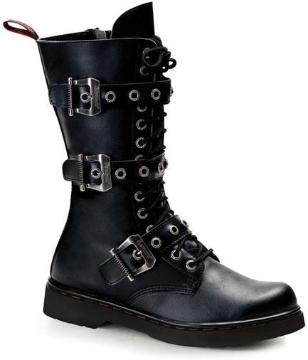 DEFIANT-303 Black Combat Boots