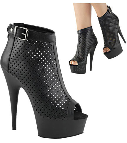 DELIGHT-1011 Ankle Mid Calf Boots