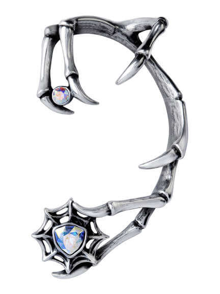 Demon - Silver Pewter Earwrap