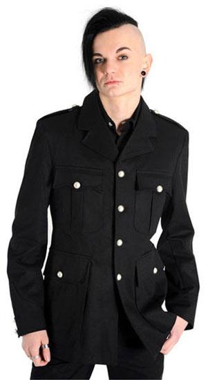 Army Jacket Denim Black