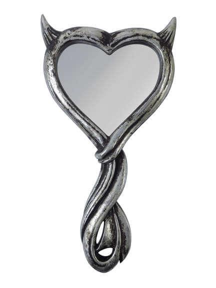 Devil's Heart Hand Mirror