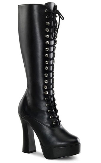 ELECTRA-2020 Black PU Boots