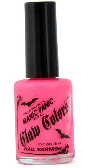 Electric Flamingo Nail Polish