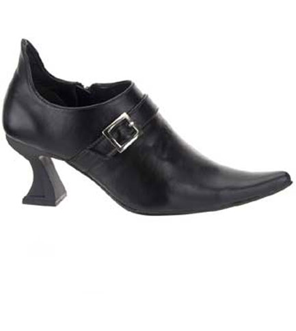 ELF-05 Black Pointy Shoes