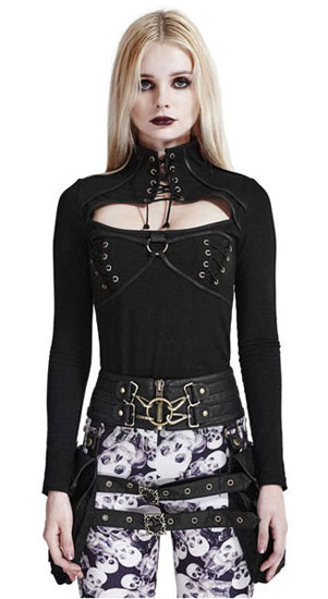 Ella Steampunk Womens top