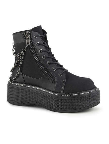 EMILY-114 Platform Ankle Boots