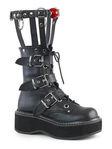 EMILY-355 Cage Calf Boots