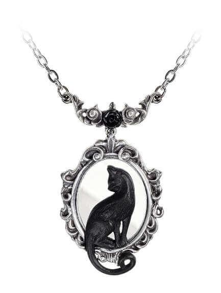 Feline Felicity Pendant Necklace