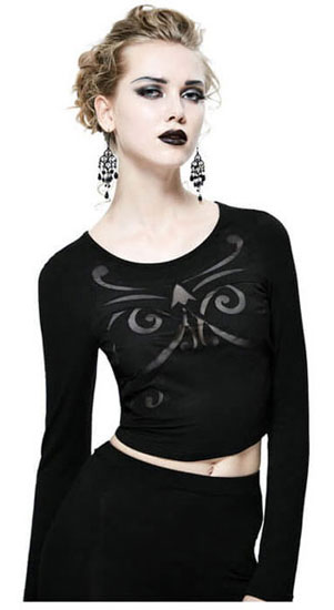 Feona Women's Gothic Top