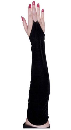 Fingerloop Velvet Gloves