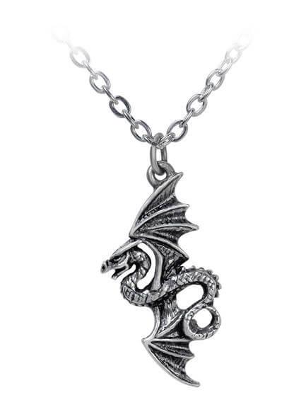 Flight of Airus Pendant Necklace
