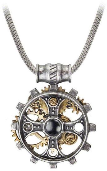Foundrymans Ring Cross Pendant