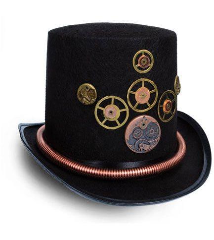 Steampunk Gears Hat