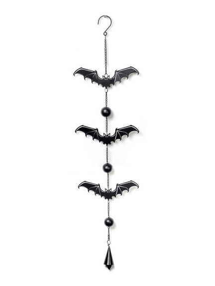 Gothic Bat Wind Chime