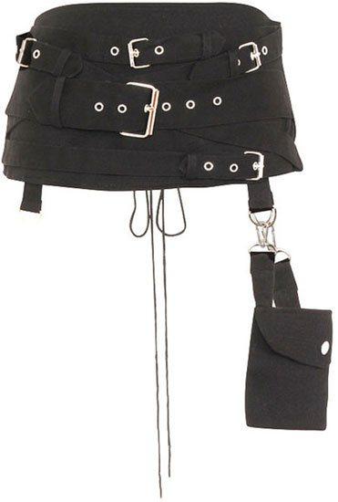 Gothic Hel Pocket Belt Cincher