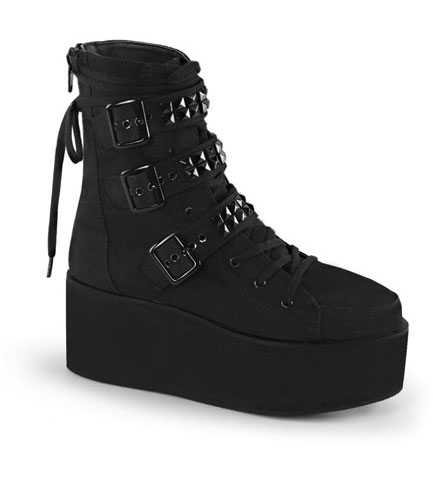 GRIP-101 Canvas Platform Boots
