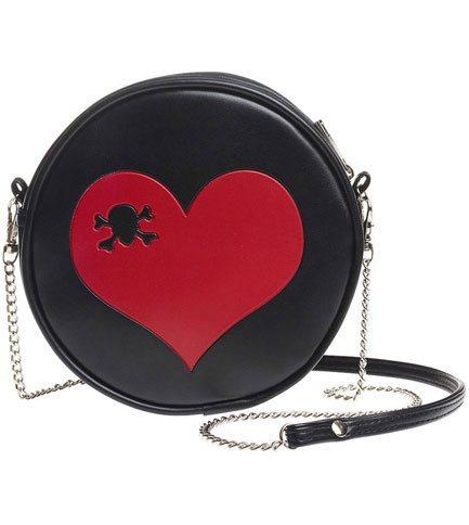 Heart shoulder bag