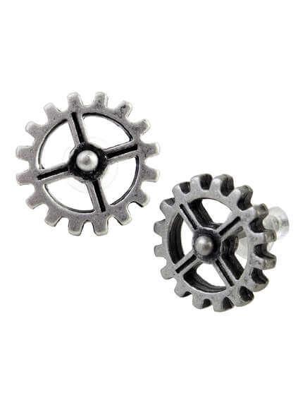 Industrilobe Gear Earrings