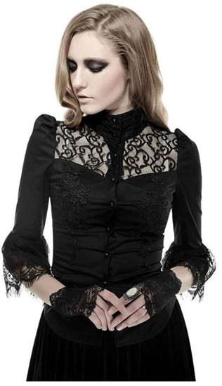 Gothic Iris Women's Shirt