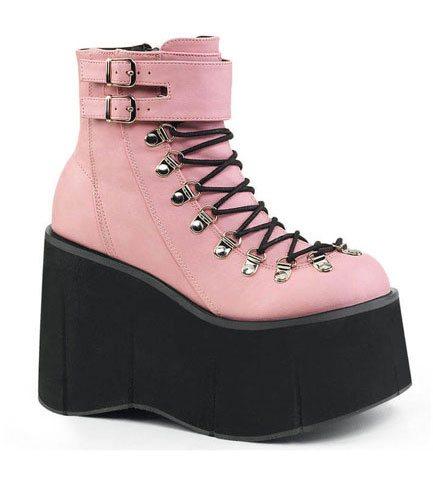 KERA-21 Pink Platform Boots
