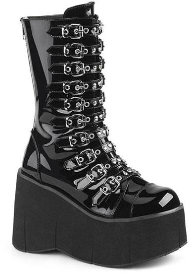 KERA-50 Patent Platform Boots