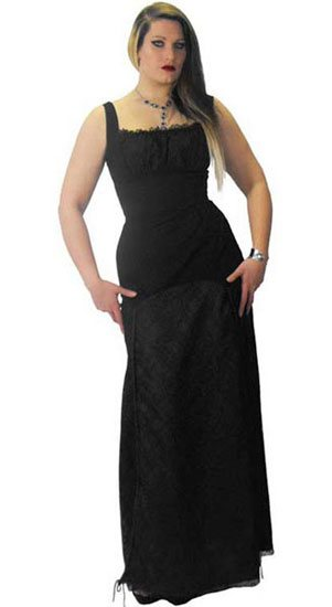 Black Long Llorna Dress