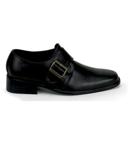 LOAFER-12 Black Loafer Shoes