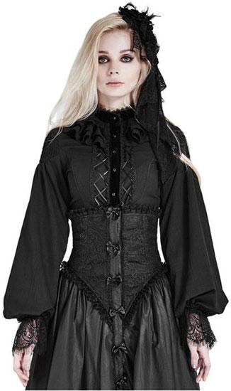 Gothic Lolita Womens Blouse