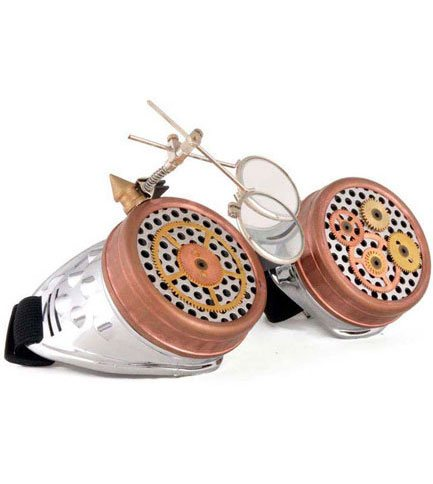 Steampunk Loupe Goggles