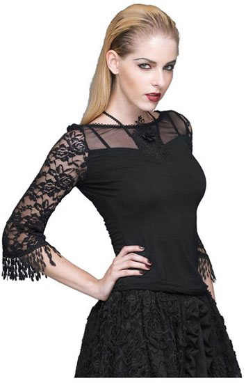 Lucinda Gothic Women's Top