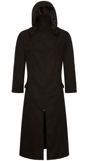 Minos Men's Long Length Highwayman Coat