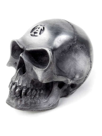 Alchemist Skull Paper Weight