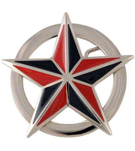 Nautical Star Belt Buckle