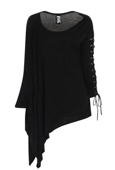 NYX Gothic Asymmetric Top