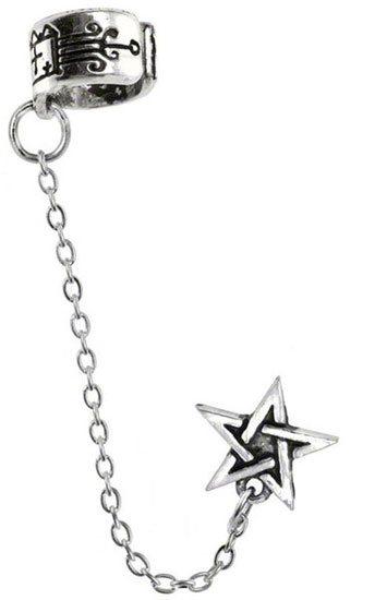 Pentagram Earring Cuffs