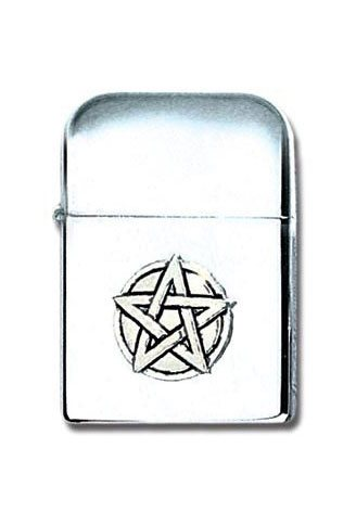 Pentagram Pewter Lighter
