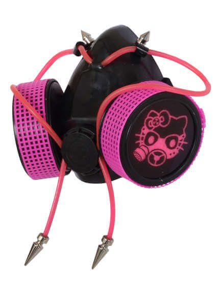 Pink Gaz Kitten Respirator