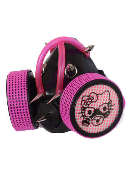 Pink X UV Cyber Gaz Kitty Respirator